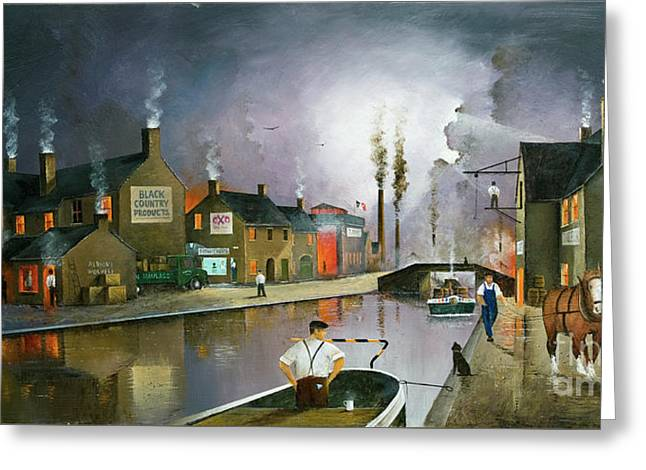 Reflections Of The Black Country Greeting Card