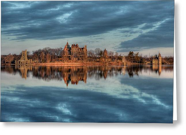 Reflections Of The Heart Greeting Card by Lori Deiter