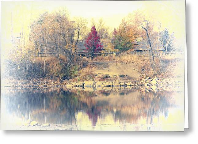 Reflections On A Pond - 2 Greeting Card