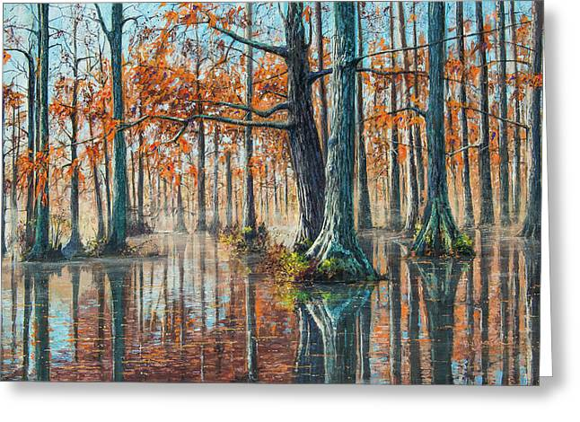 Reflections On Autumn Greeting Card