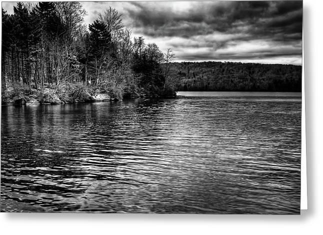 Reflections On Limekiln Lake Greeting Card by David Patterson