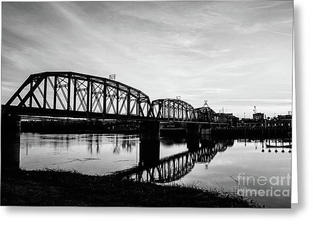 Reflections On The Red River Shreveport Greeting Card