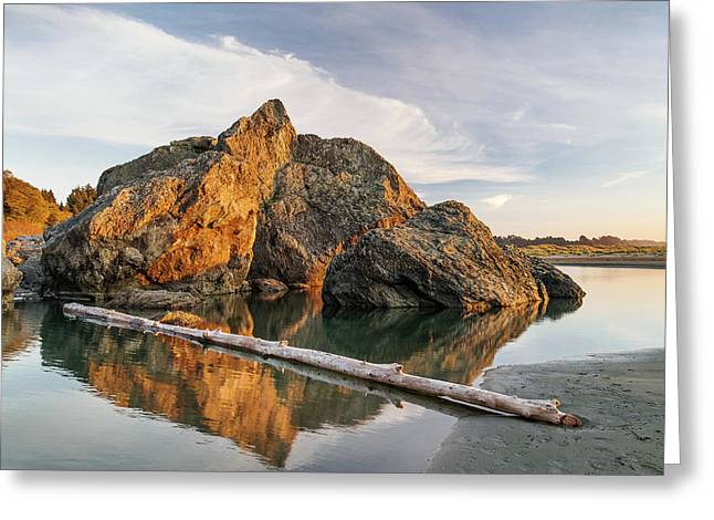 Reflections On Tranquility Greeting Card
