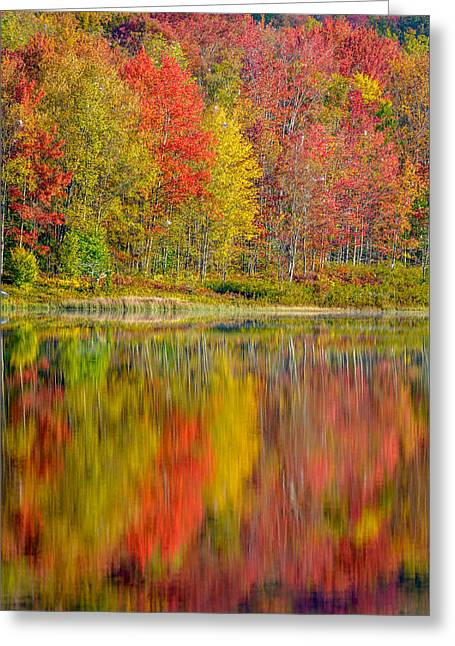 Canaan Valley West Virginia Reflections Greeting Card