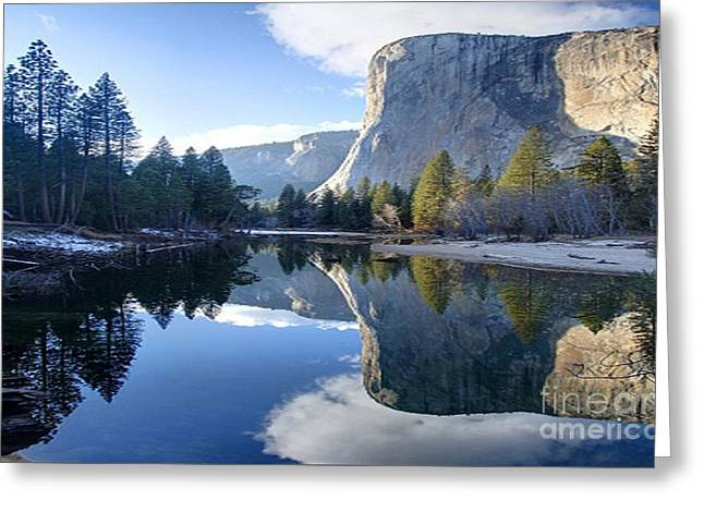 Reflections Greeting Card by Rod Jellison