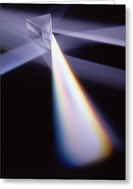 Refraction Greeting Card