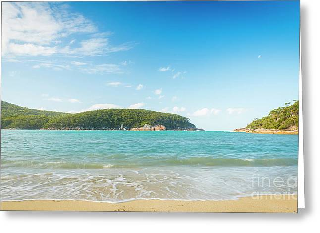 Refuge Cove Wilsons Promontory Greeting Card