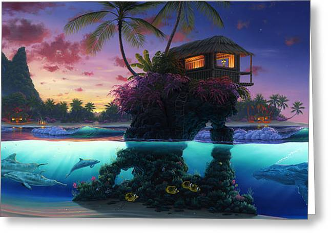 Refuge Of Life Greeting Card by Al Hogue