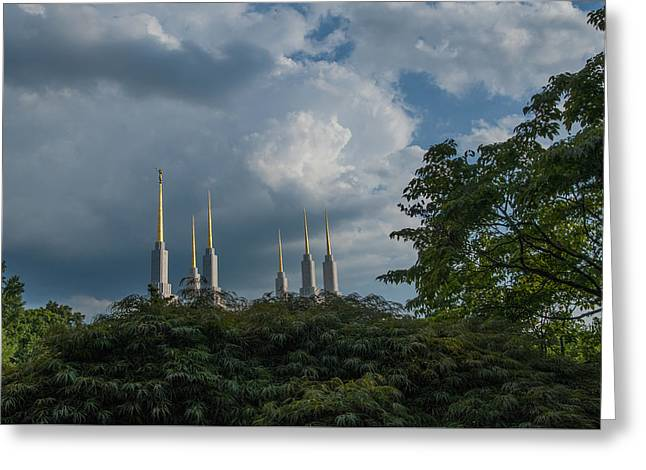 Regal Spires Greeting Card