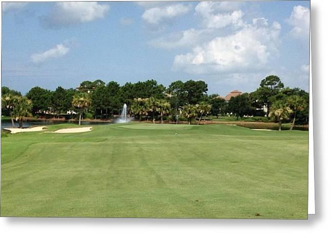 Regatta Bay #golf #instagramers Greeting Card