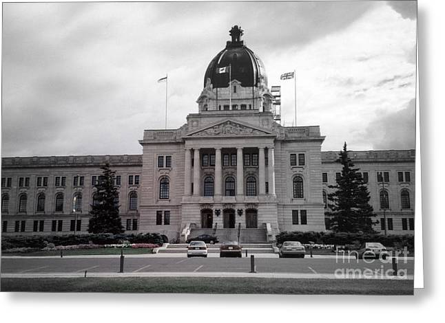 Regina Legislative Building Greeting Card