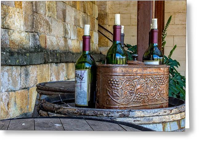 Regusci Winery Greeting Card