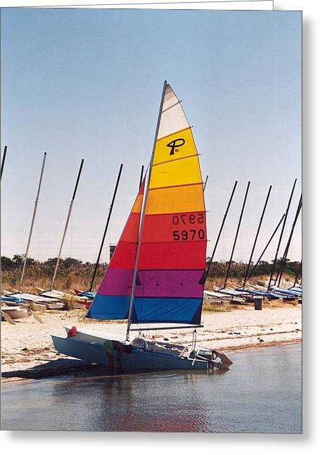 Rehobeth Sailing Greeting Card