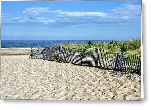 Greeting Card featuring the photograph Rehoboth Delaware by Brendan Reals