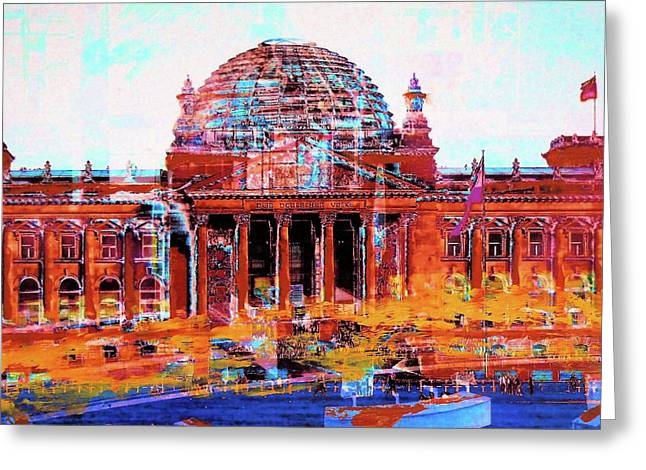 Reichstag And Parliament Greeting Card
