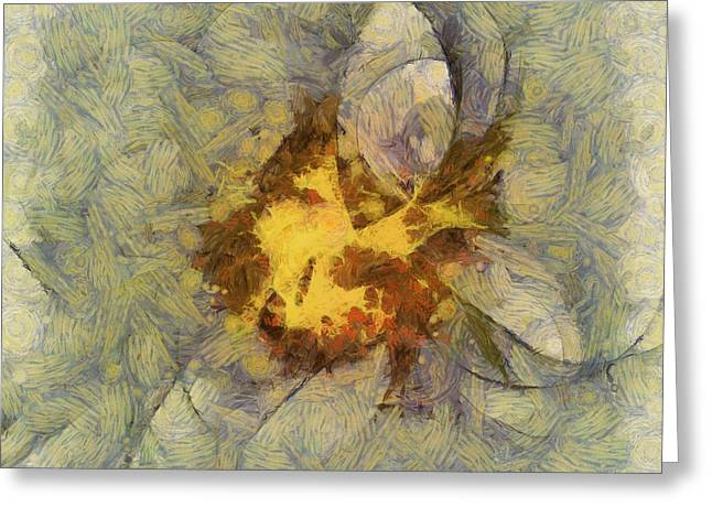 Reinflaming Combination  Id 16099-215910-64590 Greeting Card by S Lurk
