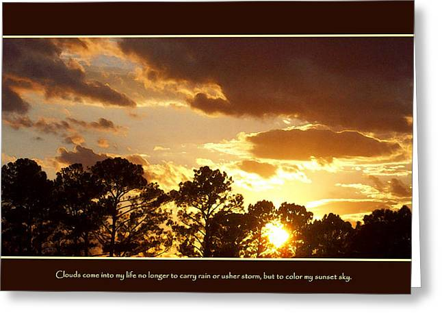 Rejoice Greeting Card by Ginger Howland