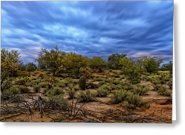 Greeting Card featuring the photograph Rejuvenation Op19 by Mark Myhaver
