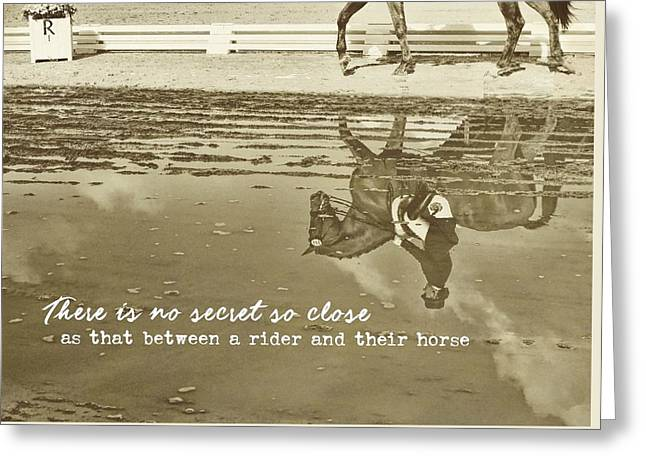 Relaxation Reflection Quote Greeting Card