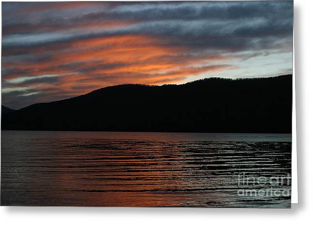 Relaxing At The End Of The Day Greeting Card by Robert Torkomian