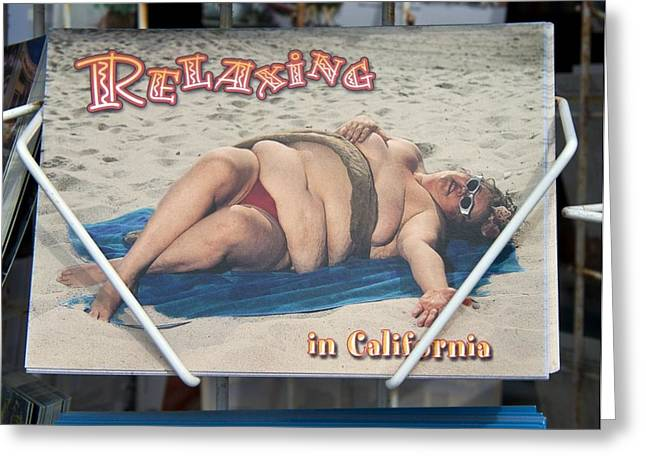 Relaxing In Ca Greeting Card