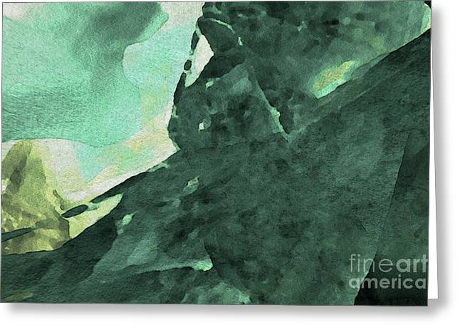 Greeting Card featuring the digital art Relaxing In The Green by Margie Chapman