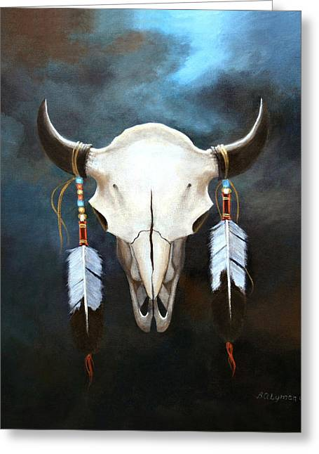 Relic Of The Plains Greeting Card by Brooke Lyman