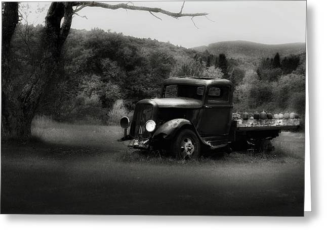 Greeting Card featuring the photograph Relic Truck by Bill Wakeley