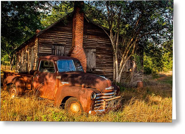 Relics Of The Past Greeting Card by Sussman Imaging