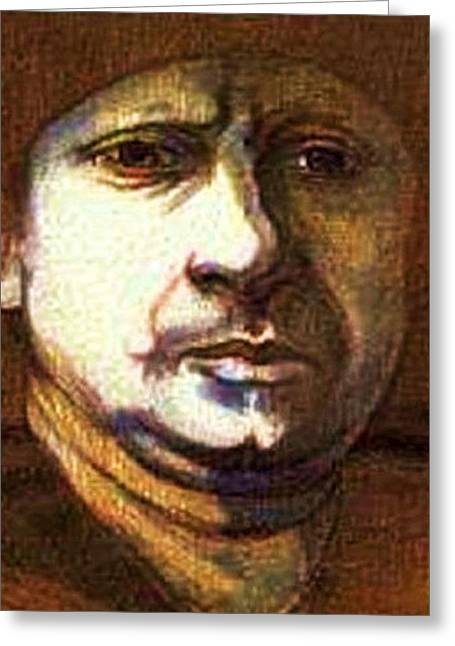 Rembrandt The Elder Greeting Card by Jerry  Stith