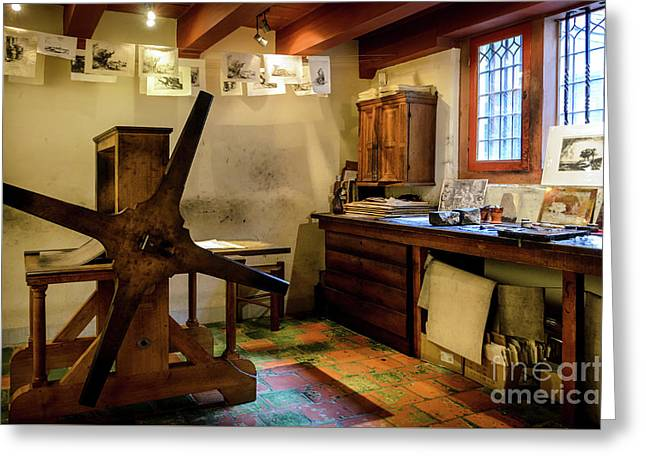 Rembrandt's Former Graphic Workshop In Amsterdam Greeting Card by RicardMN Photography