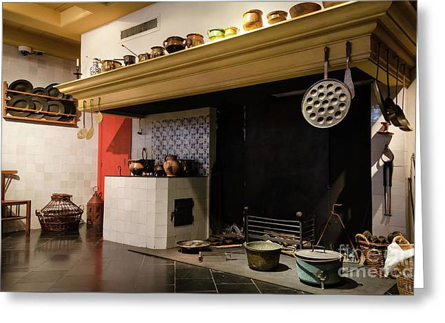 Rembrandt's Kitchen Greeting Card by RicardMN Photography