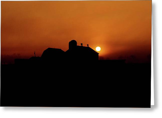 Greeting Card featuring the photograph Remember The Sun by Robert Geary