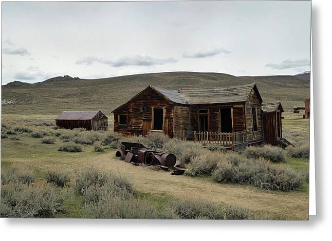 Remembering Bodie Greeting Card by Gordon Beck
