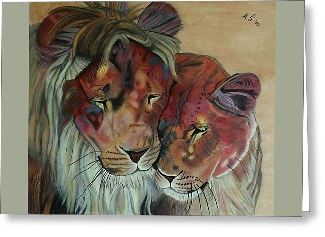Remembering Cecil Greeting Card by Melita Safran