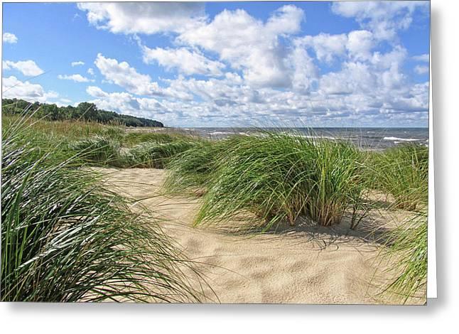 Remembering Summer Beach Scenes Greeting Card