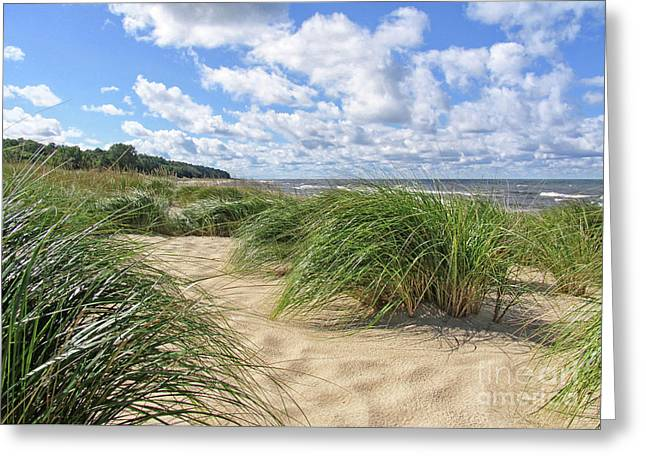 Remembering Summer Beach Scenes Greeting Card