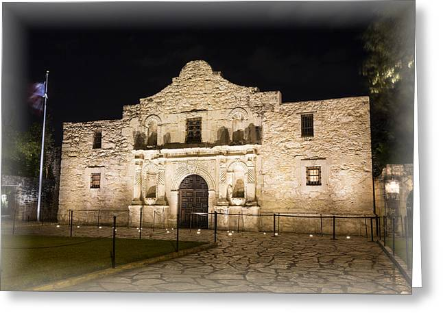 Remembering The Alamo Greeting Card by Stephen Stookey