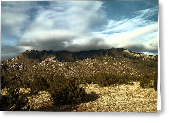 Remembering The Sandias Greeting Card by Jeff Swan