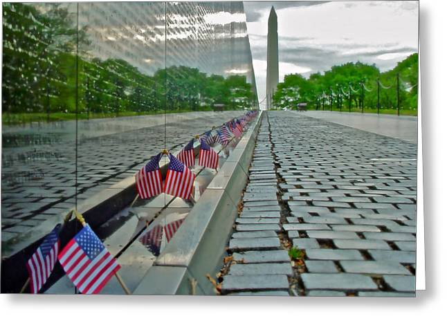 Remembrance Of Patriotism Greeting Card