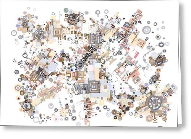 Remembrances Of Past Glories Greeting Card by Regina Valluzzi