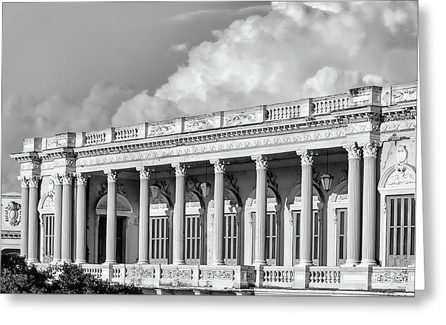 Remnant Of A Colonial Past Greeting Card by Dawn Currie