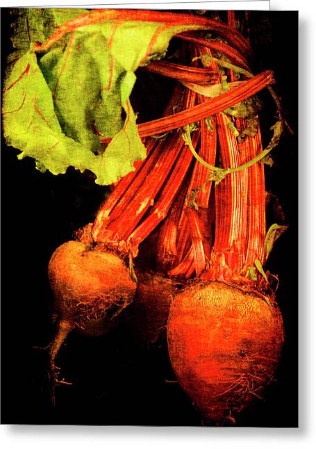 Renaissance Beetroot Greeting Card