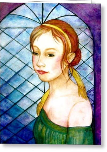 Renaissance Greeting Card by L Lauter