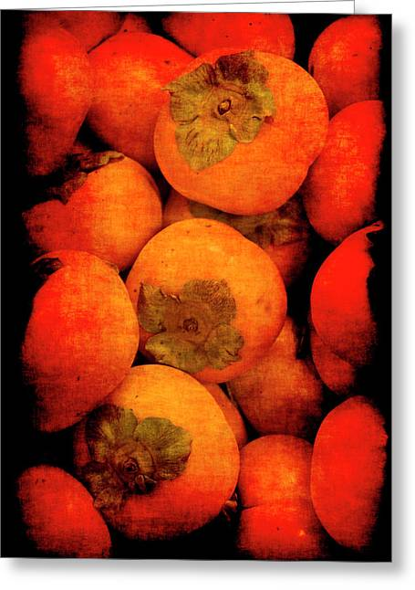Renaissance Persimmons Greeting Card