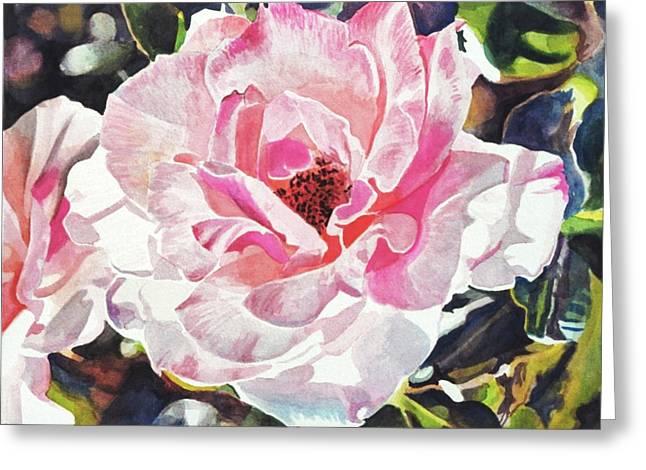 Renaissance Rose Blossom Greeting Card