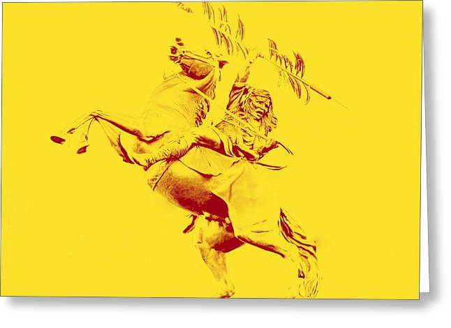 Renegade And Chief Osceola Greeting Card by Paul  Wilford