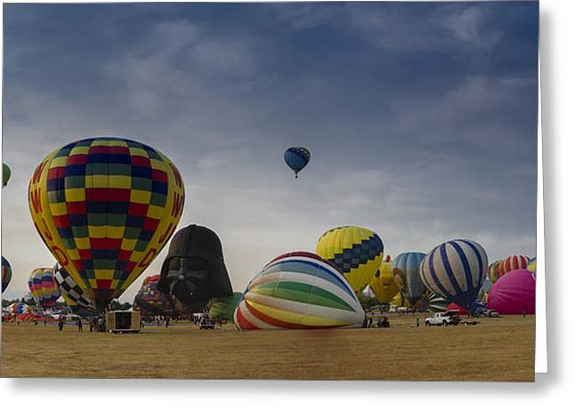 Reno Balloon Race 2015 Greeting Card by Rick Mosher