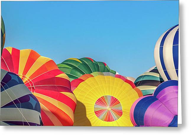 Reno Balloon Races Greeting Card by Bill Gallagher
