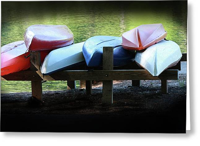 Rent Me Greeting Card by Kim Henderson
